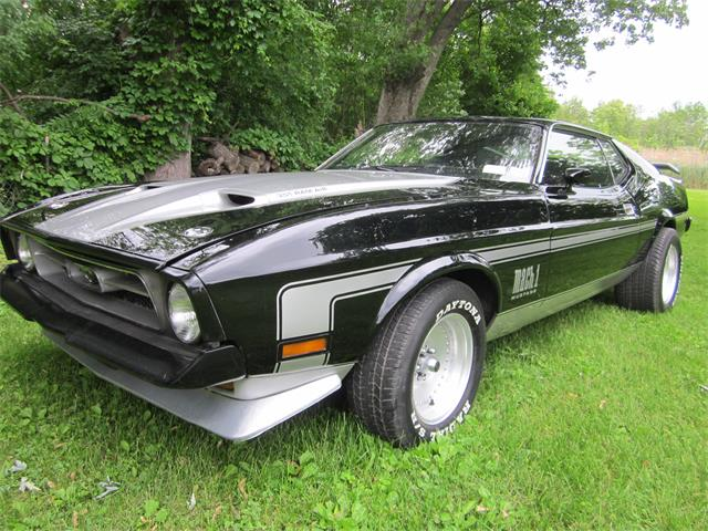 Picture of '73 Ford Mustang Mach 1 located in Rochester New York - $13,499.00 Offered by a Private Seller - QECE