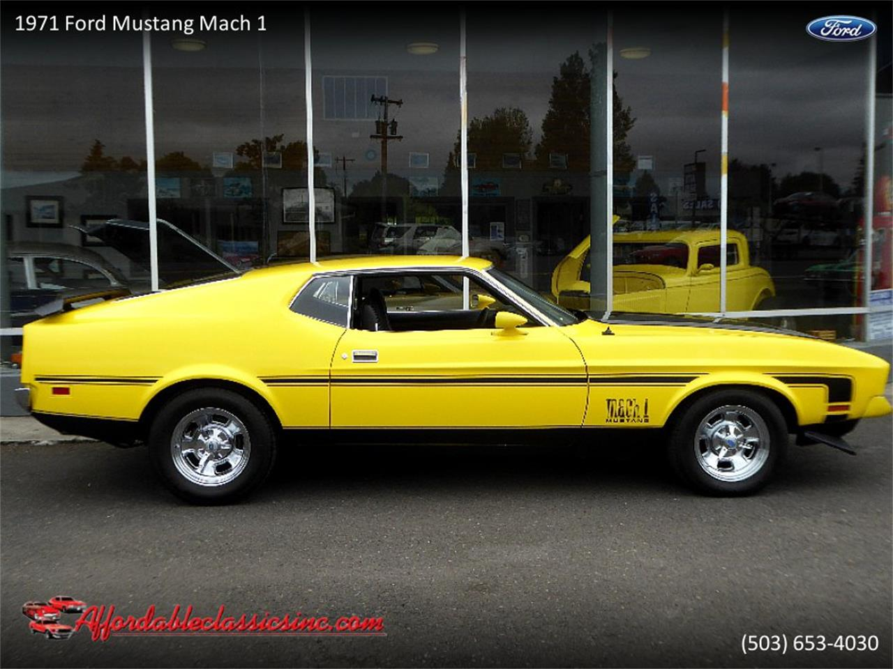 Large Picture of '71 Mustang Mach 1 - QEIT