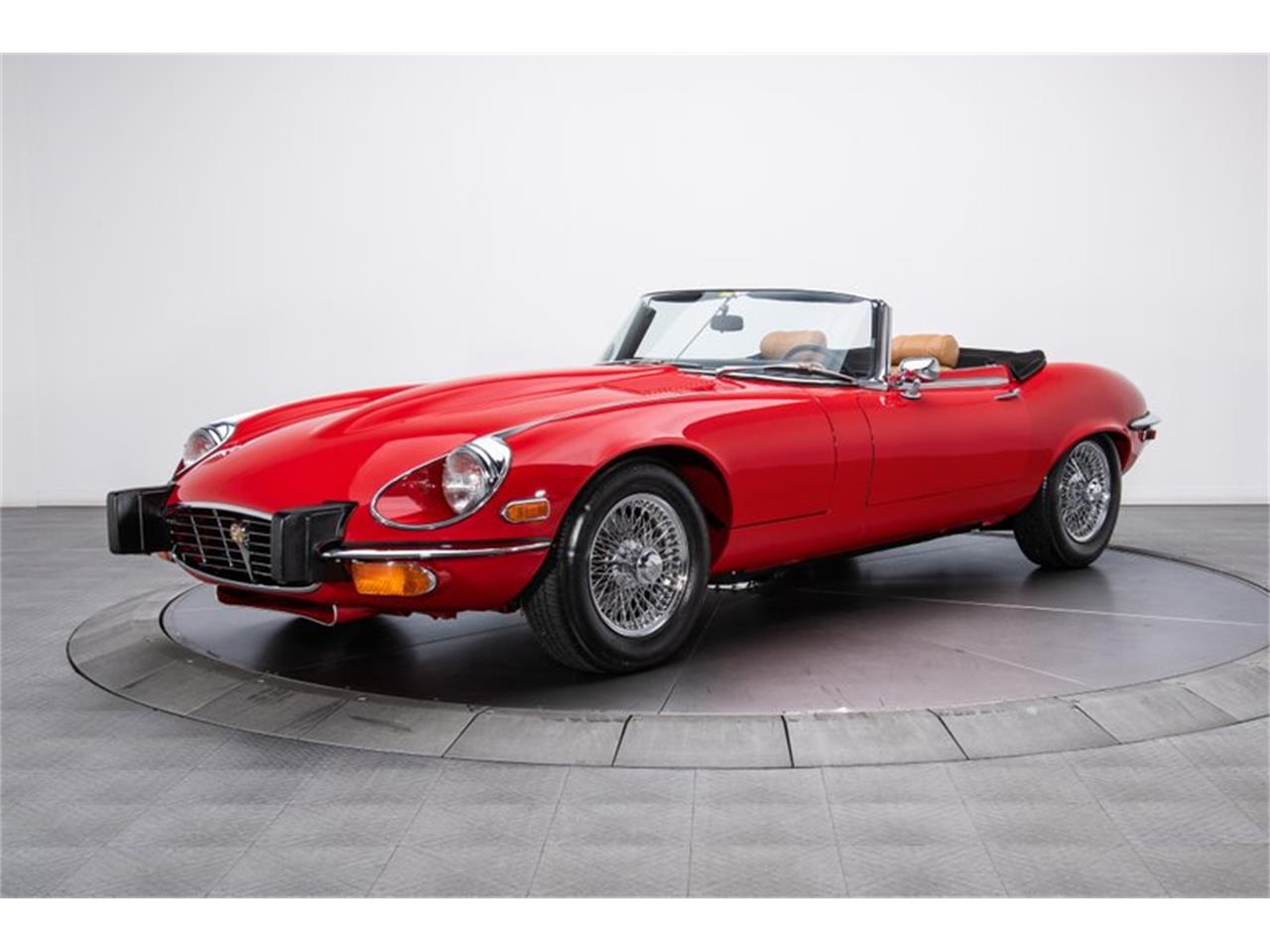 Large Picture of 1974 Jaguar E-Type located in Charlotte North Carolina Offered by RK Motors Charlotte - QEN6