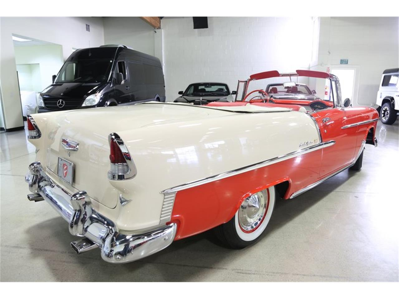 Large Picture of Classic '55 Bel Air located in California Offered by Fusion Luxury Motors - QEQA