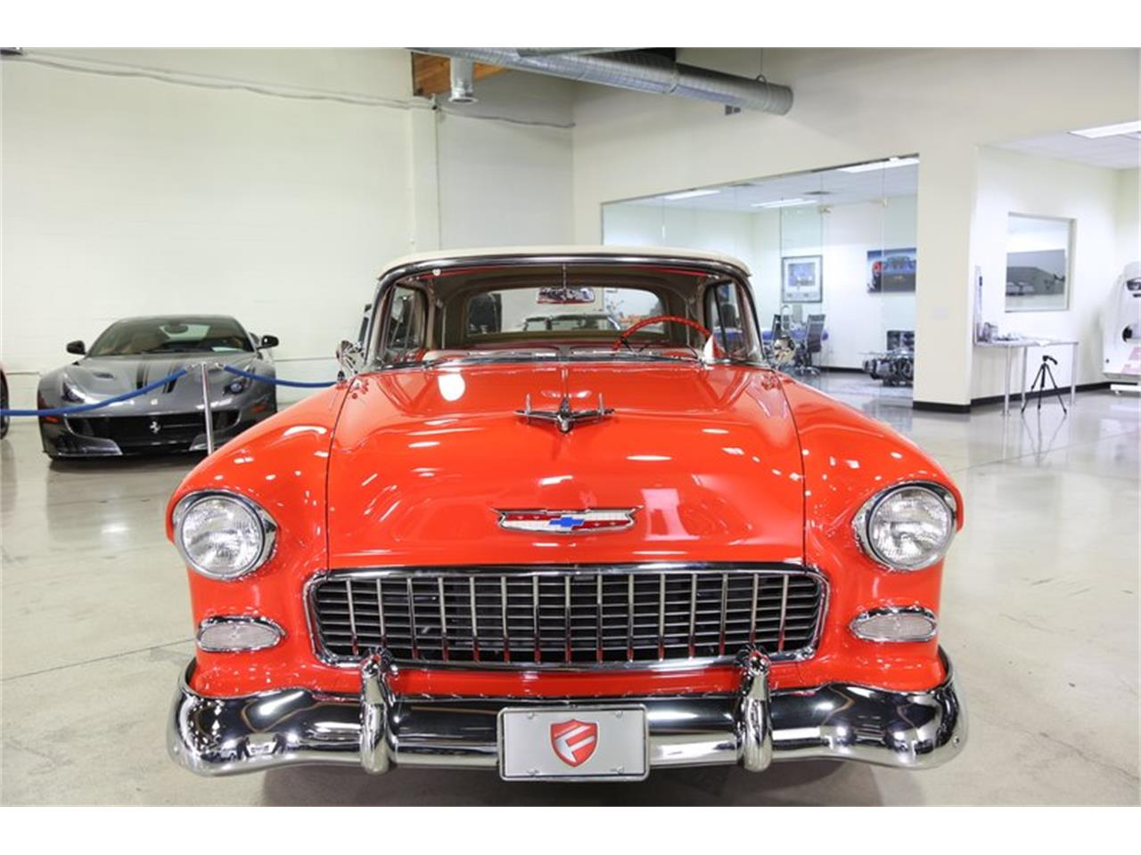 Large Picture of Classic '55 Chevrolet Bel Air located in Chatsworth California Offered by Fusion Luxury Motors - QEQA