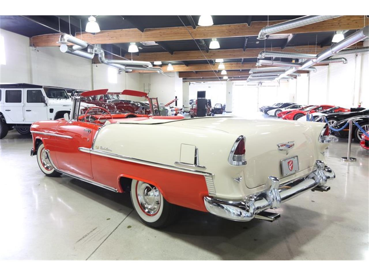 Large Picture of Classic 1955 Chevrolet Bel Air - $94,950.00 Offered by Fusion Luxury Motors - QEQA