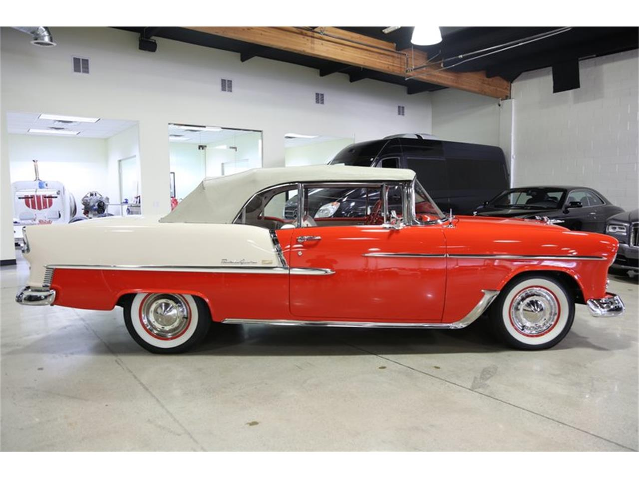 Large Picture of 1955 Chevrolet Bel Air located in Chatsworth California - $94,950.00 Offered by Fusion Luxury Motors - QEQA