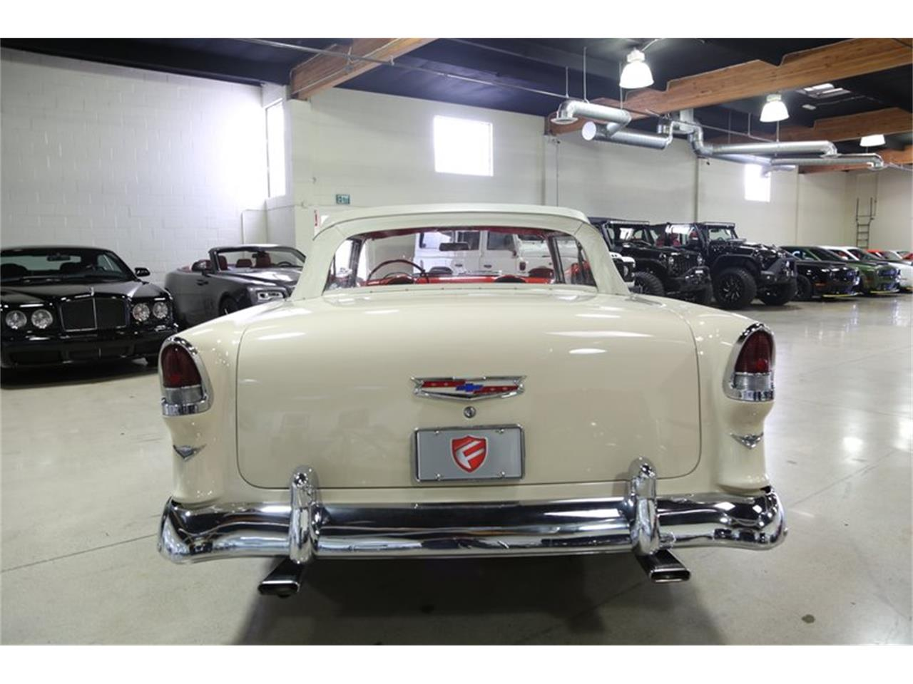 Large Picture of '55 Chevrolet Bel Air Offered by Fusion Luxury Motors - QEQA