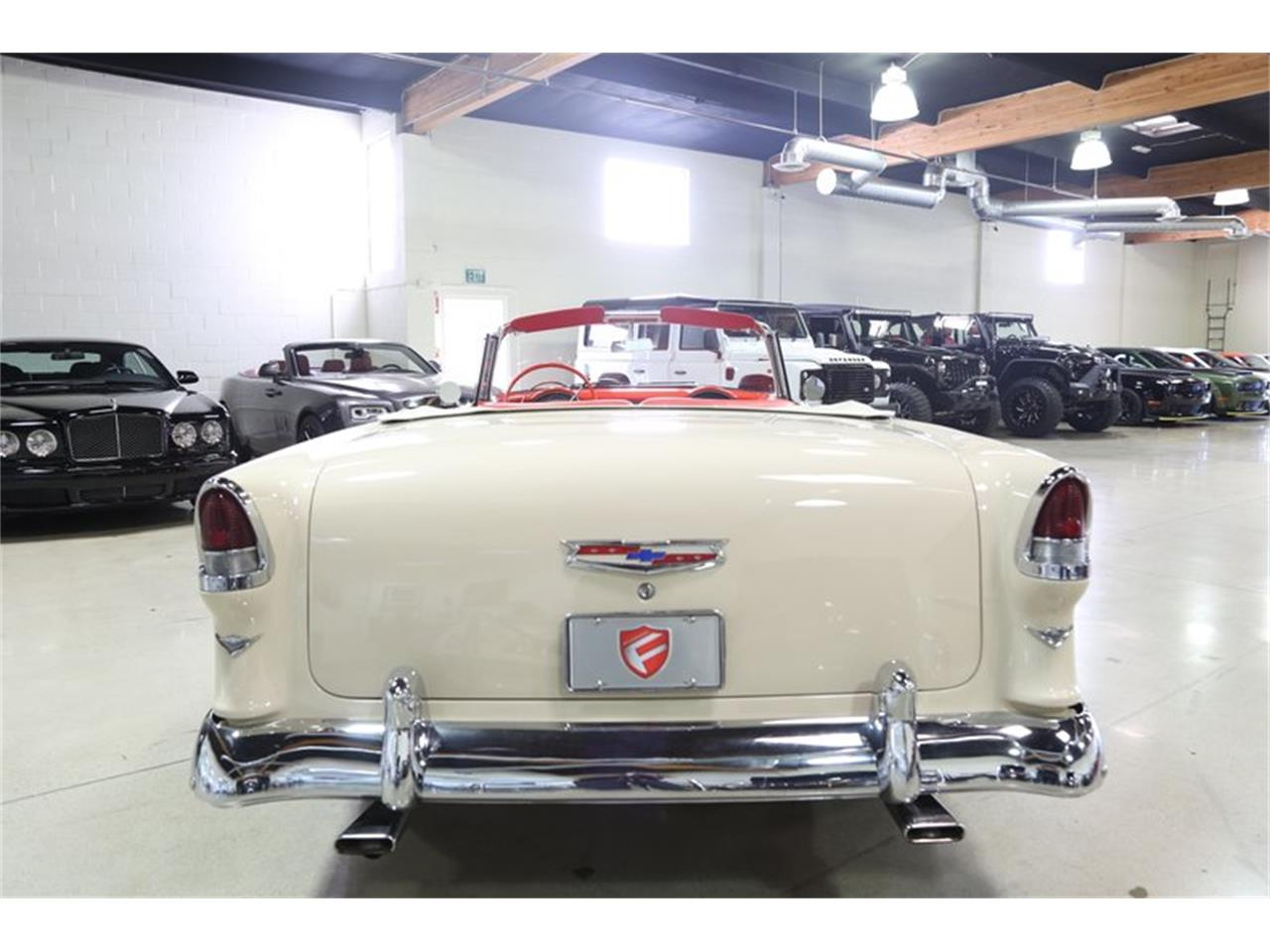 Large Picture of Classic 1955 Chevrolet Bel Air located in California - $94,950.00 Offered by Fusion Luxury Motors - QEQA