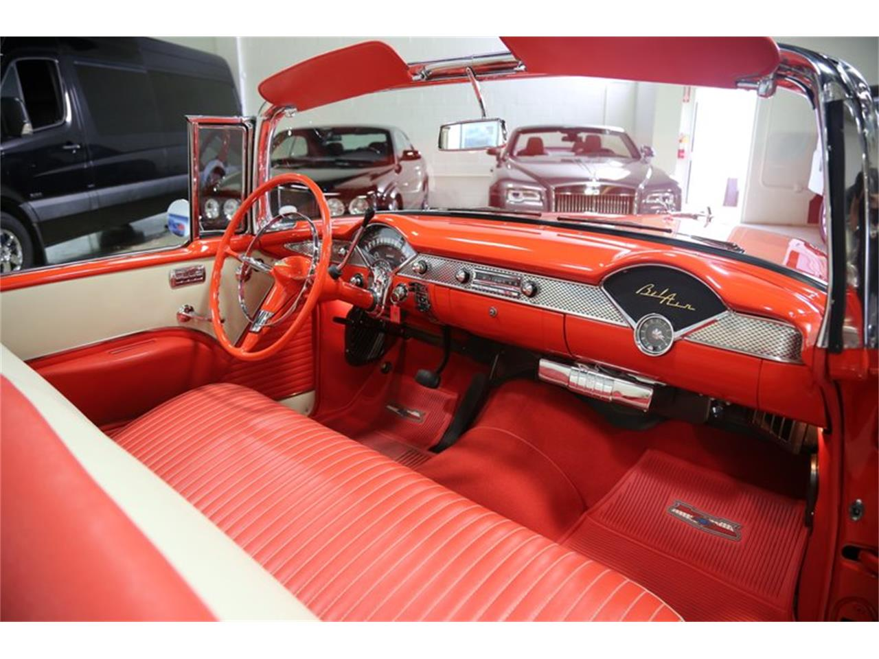 Large Picture of Classic 1955 Bel Air located in California Offered by Fusion Luxury Motors - QEQA