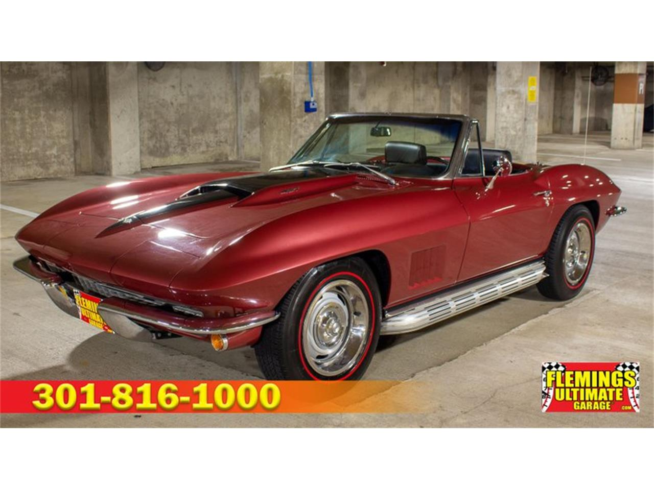 Large Picture of Classic 1967 Corvette located in Maryland - QETF