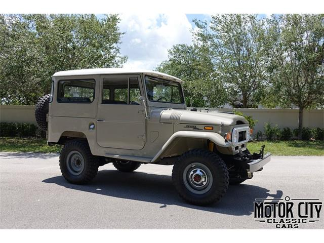 1970 to 1972 Toyota Land Cruiser for Sale on ClassicCars com on