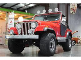 Picture of '77 CJ5 located in Houston Texas - $20,999.00 Offered by Theiss Motorsports Classics and Customs - QEVB