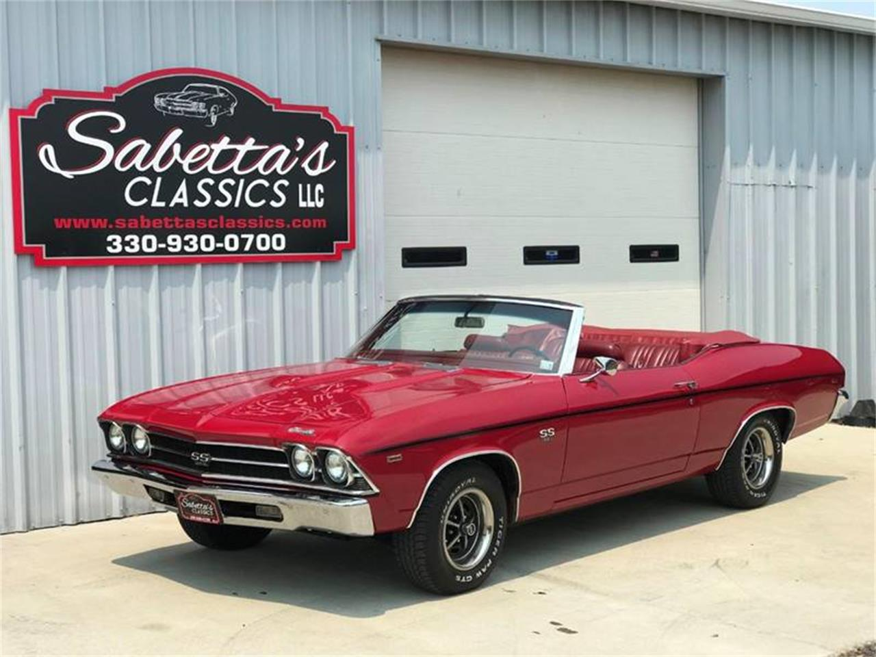 Large Picture of Classic '69 Chevelle SS Offered by Sabettas Classics, LLC - QEX0