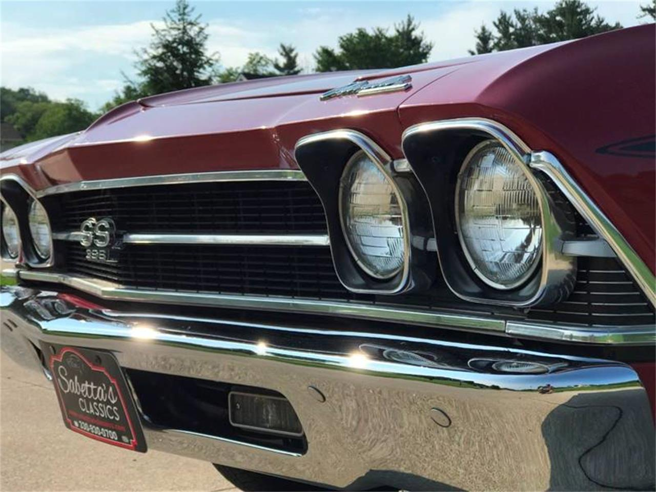 Large Picture of '69 Chevelle SS located in Orville Ohio - $42,000.00 Offered by Sabettas Classics, LLC - QEX0
