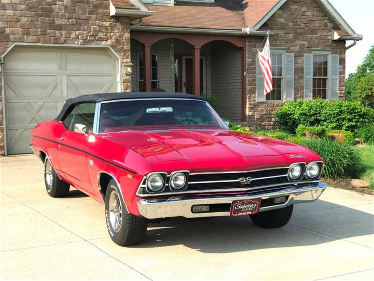 Large Picture of Classic '69 Chevrolet Chevelle SS located in Ohio - $42,000.00 Offered by Sabettas Classics, LLC - QEX0