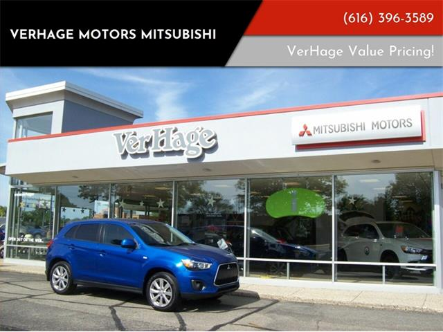 Picture of 2015 Mitsubishi Outlander located in Holland Michigan - $14,395.00 Offered by  - QD9K