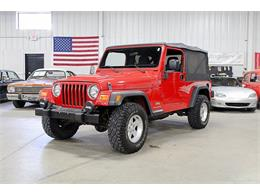Picture of 2006 Wrangler located in Kentwood Michigan Offered by GR Auto Gallery - QF7K
