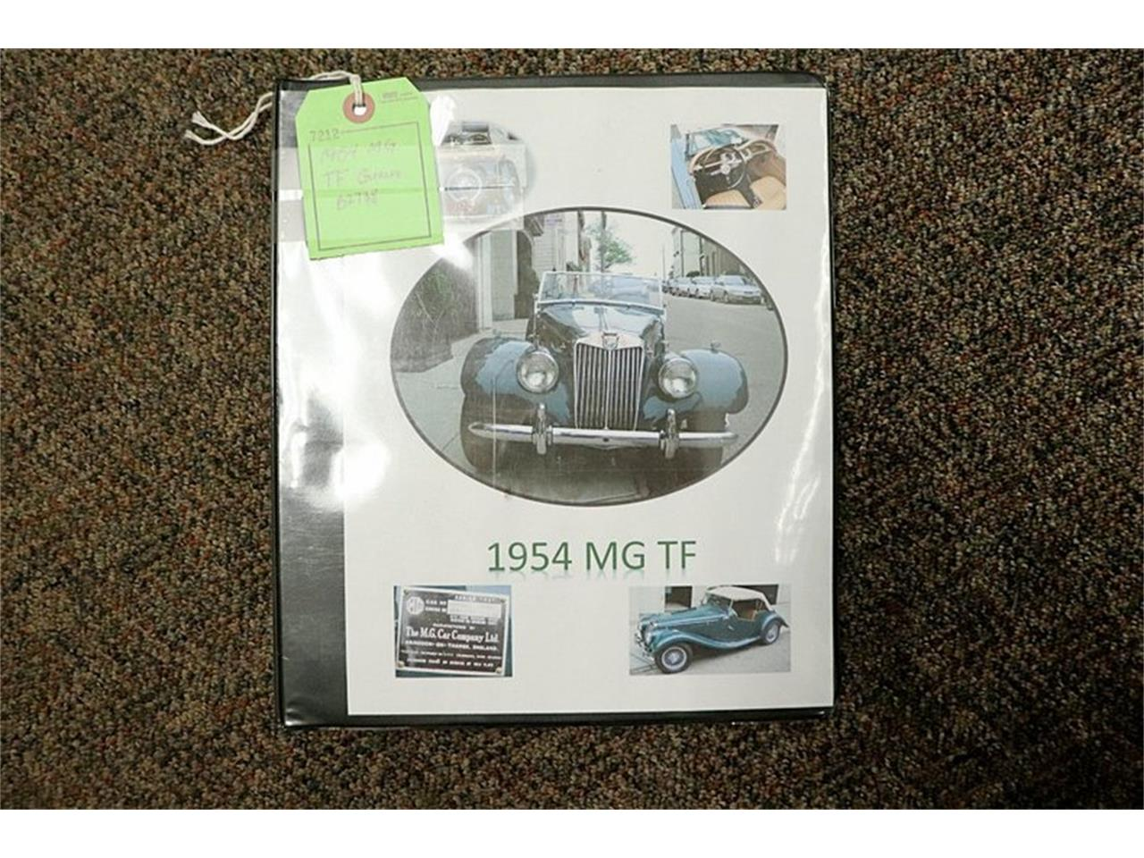 Large Picture of Classic 1954 TF located in Kentwood Michigan - $47,900.00 - QF7L