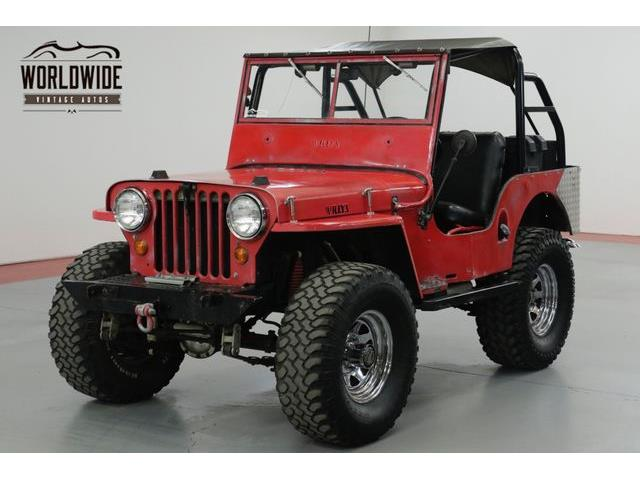 Picture of Classic '47 Jeep Willys located in Colorado - $10,900.00 Offered by  - QFER