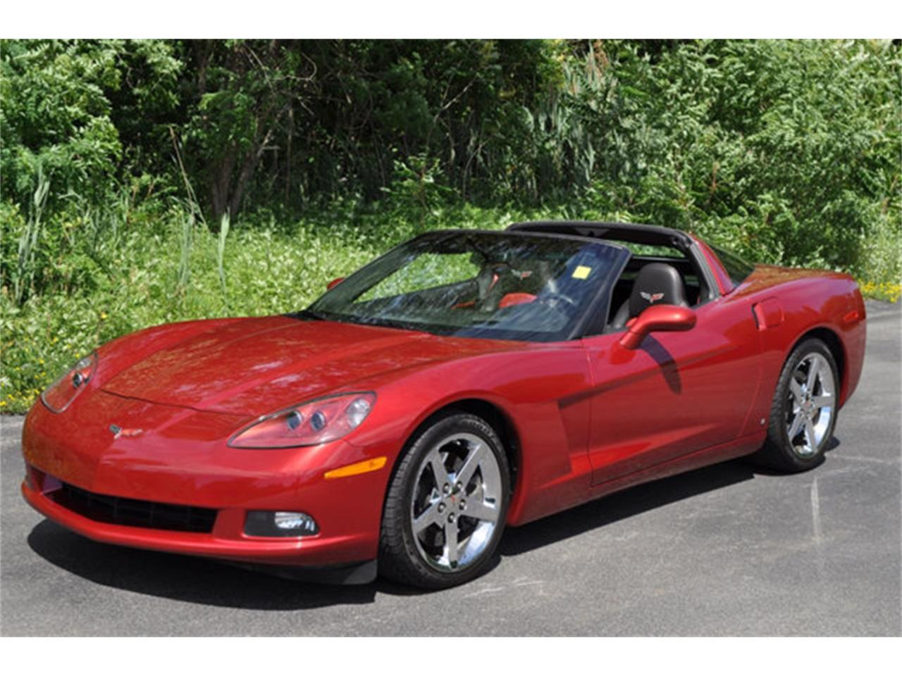 Large Picture of '08 Chevrolet Corvette located in New York Auction Vehicle - QFIY