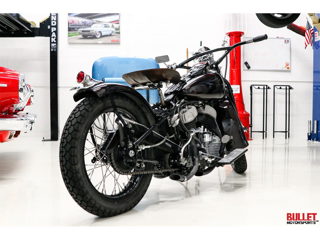 Large Picture of '46 Motorcycle - QFOV