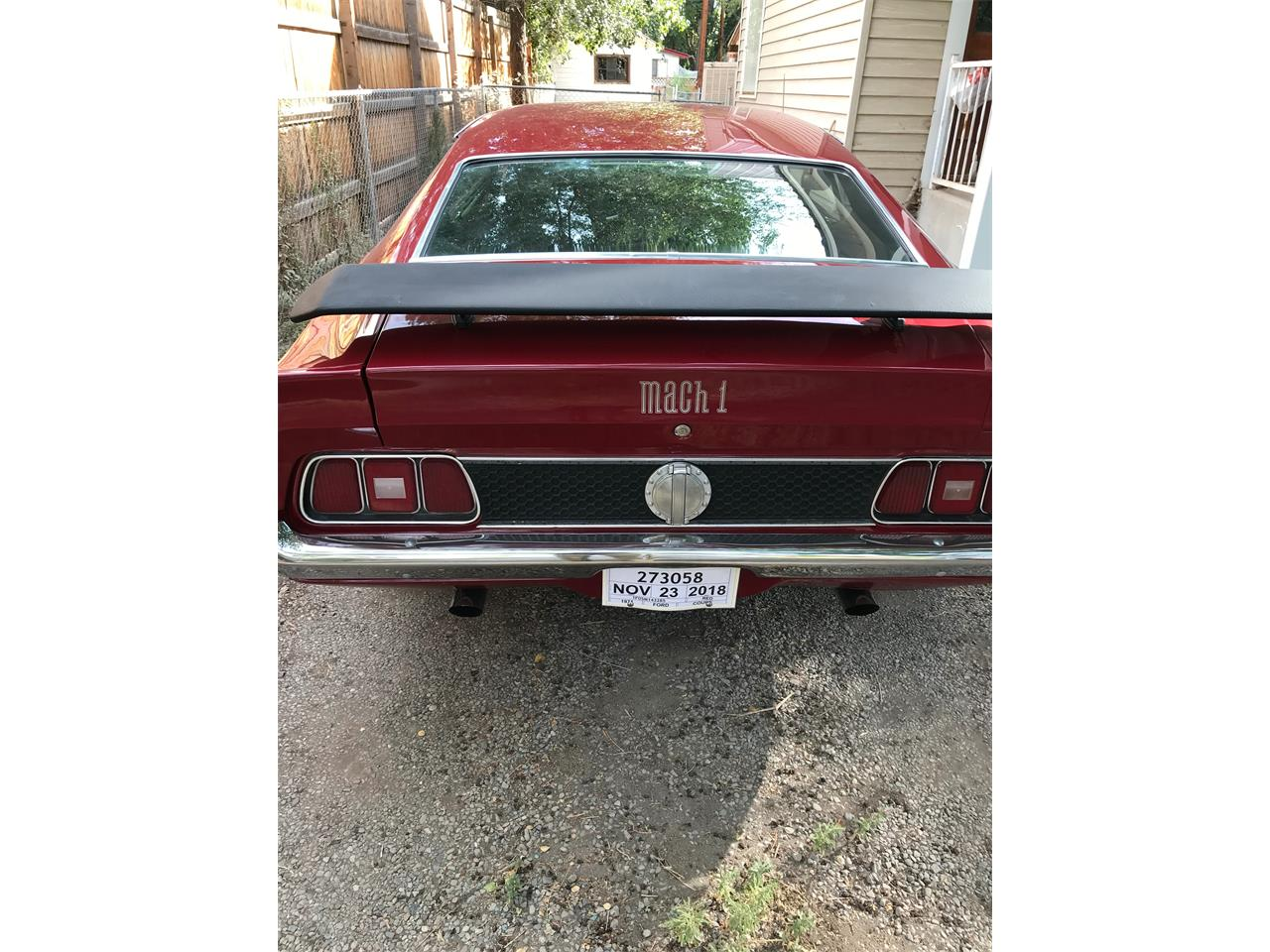 Large Picture of '71 Mustang Mach 1 - QFP7