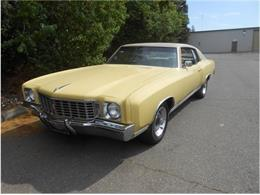 Picture of 1972 Chevrolet Monte Carlo Auction Vehicle - QFTM