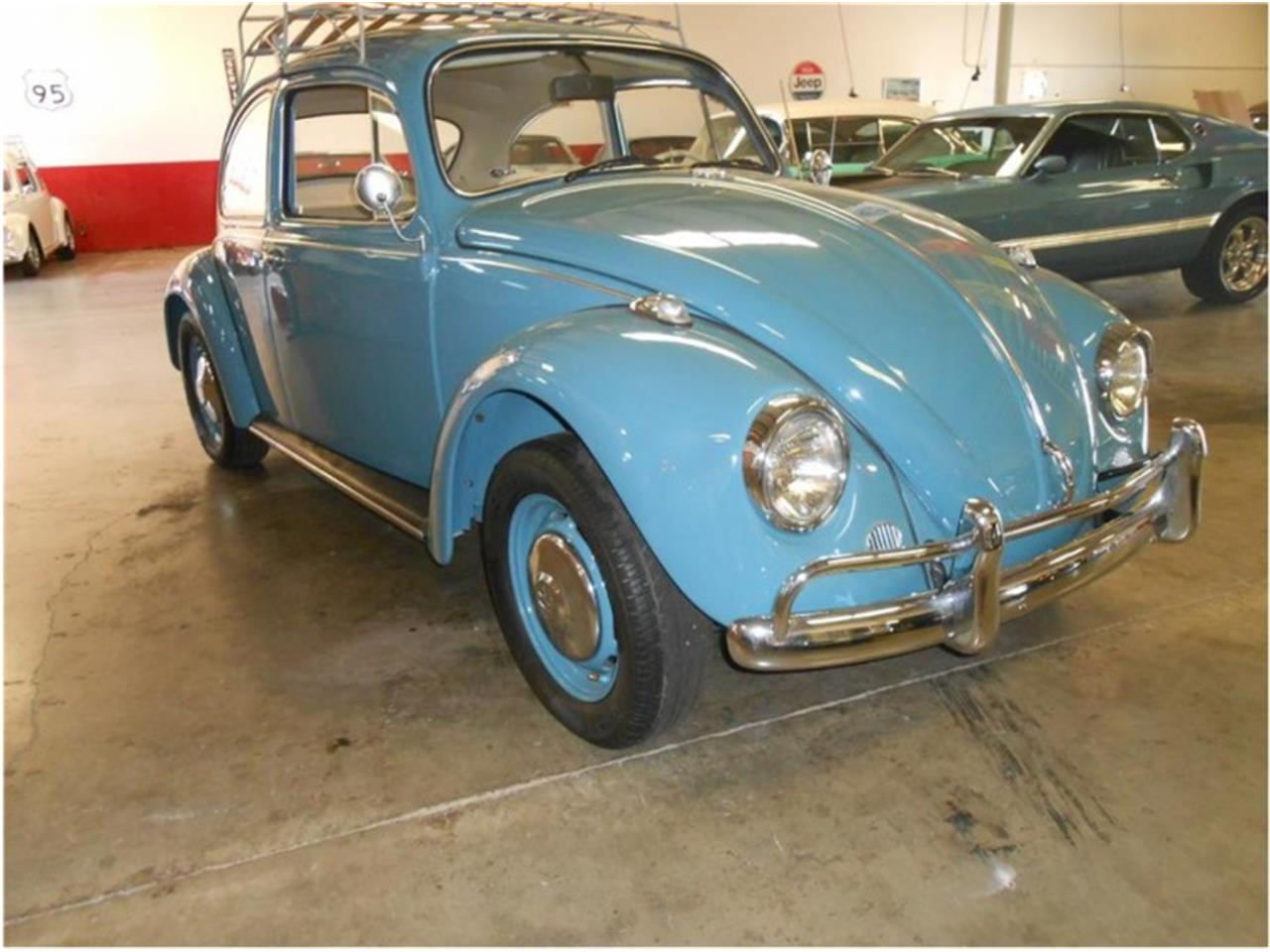 Large Picture of Classic 1967 Volkswagen Beetle Auction Vehicle - QFTS