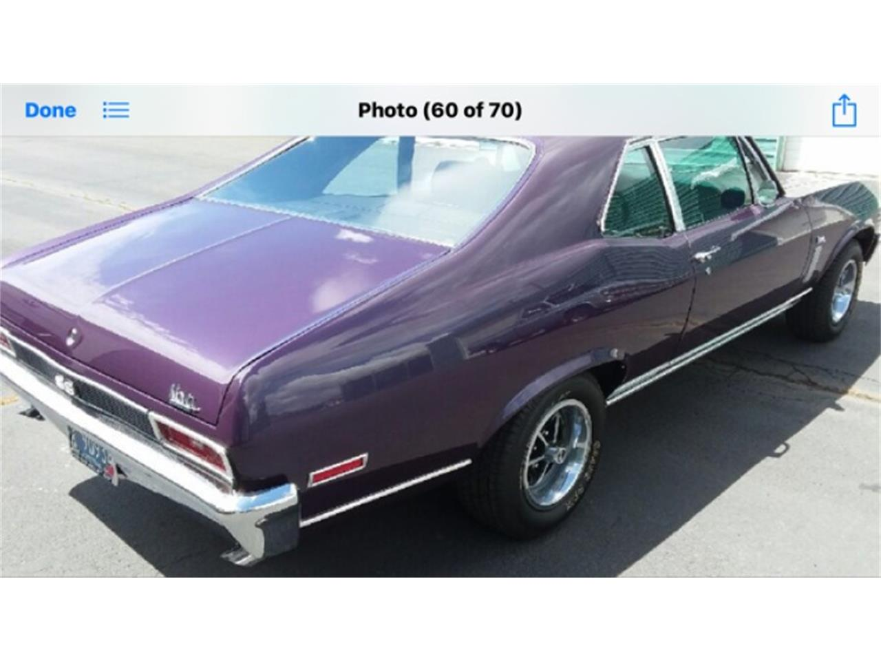 Large Picture of Classic '70 Chevrolet Nova SS - QFVS