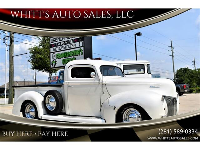 Picture of Classic 1941 Ford Pickup located in Texas Offered by  - QG3Y