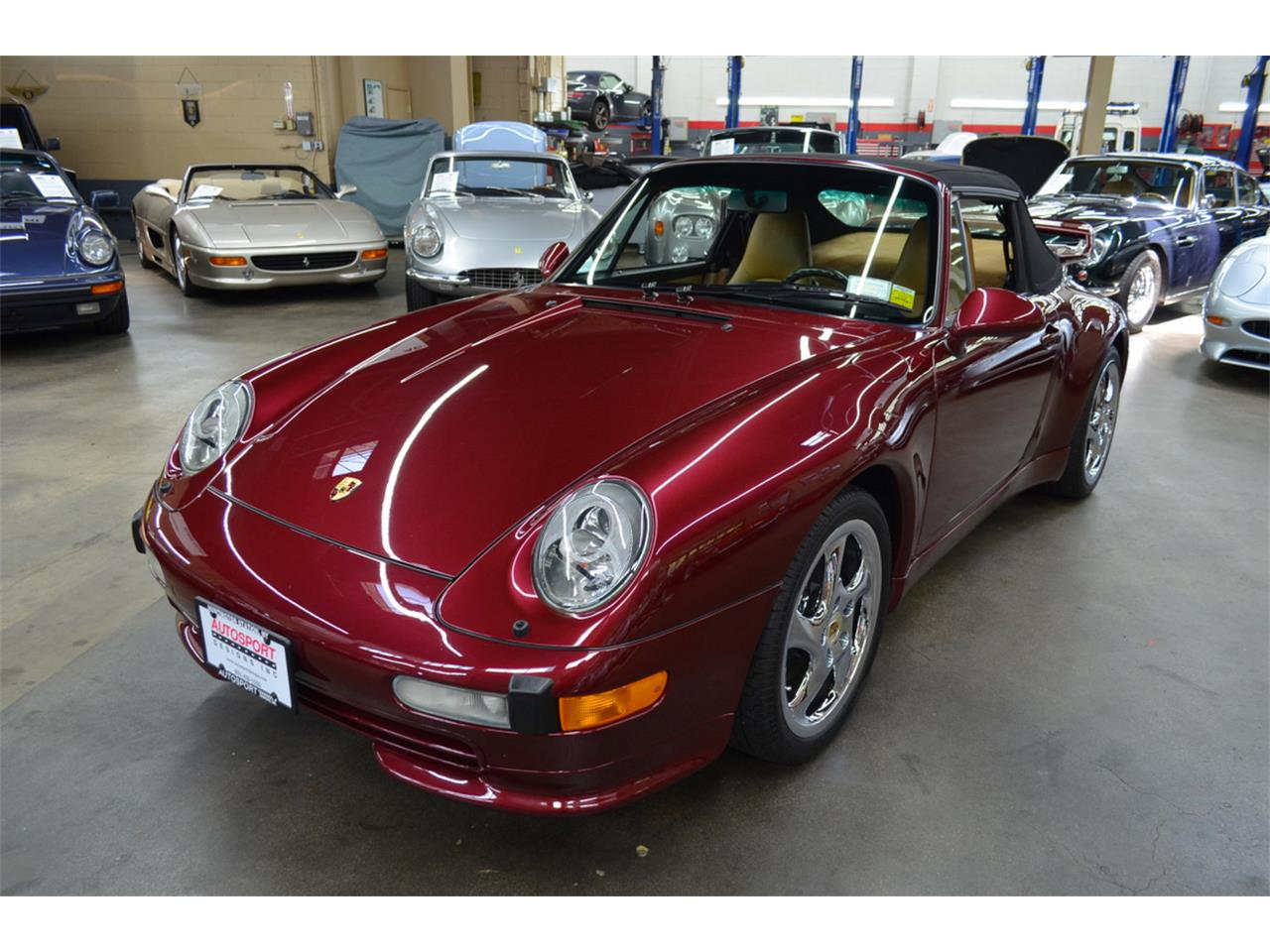 Large Picture of 1997 Porsche 911 Carrera located in Huntington Station New York Offered by Autosport Designs Inc - QG4T