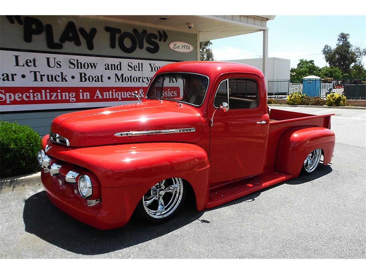 Large Picture of '51 Ford F100 located in Redlands California Offered by Play Toys Classic Cars - QDE5