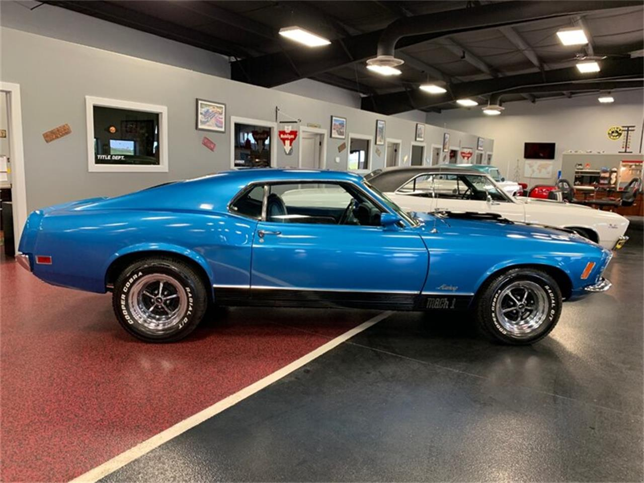Large Picture of Classic 1970 Mustang Mach 1 located in North Dakota Offered by Rides Auto Sales - QGAG