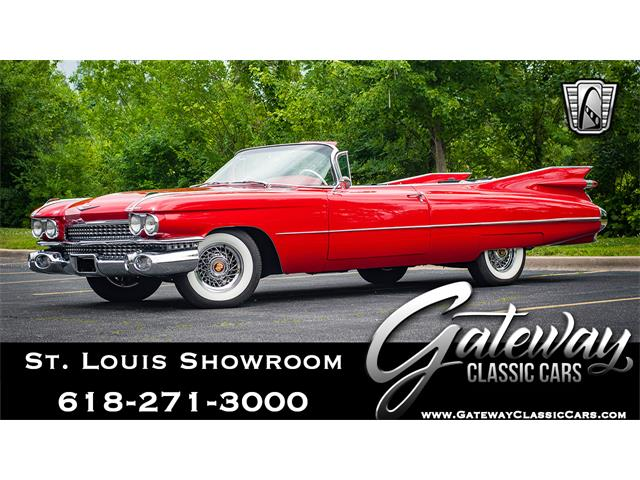 Picture of '59 Cadillac Convertible located in O'Fallon Illinois - $175,500.00 Offered by  - QGF6