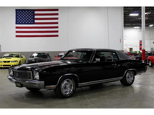 1970 to 1972 Chevrolet Monte Carlo for Sale on ClassicCars