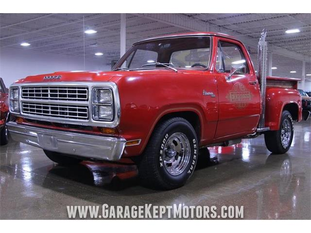 Classic Dodge Little Red Express for Sale on ClassicCars com