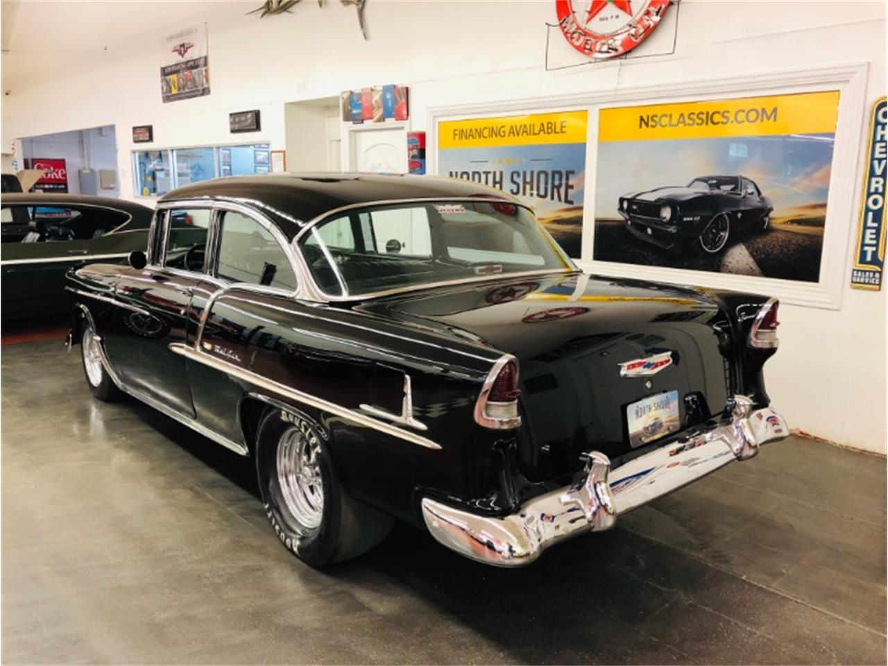 Large Picture of '55 Chevrolet Bel Air located in Illinois - $69,975.00 Offered by North Shore Classics - QGLD