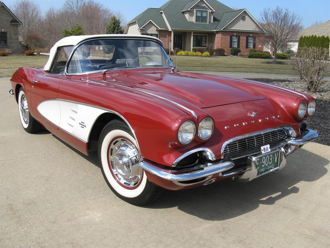 For Sale: 1961 Chevrolet Corvette in Shaker Heights, Ohio