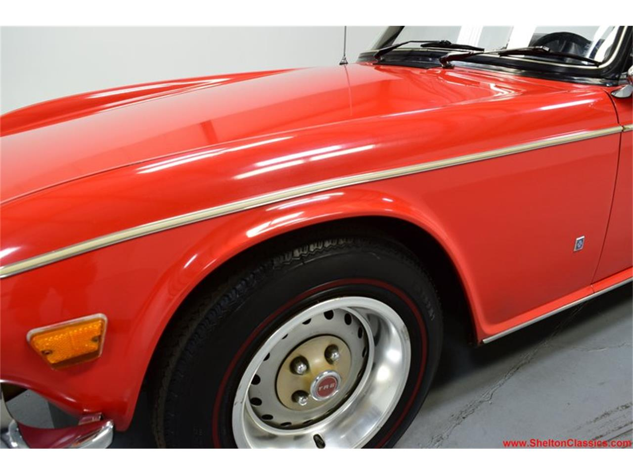 Large Picture of Classic 1973 TR6 - QGZ7