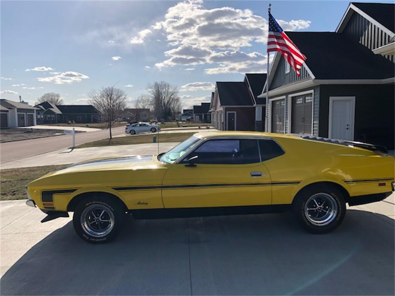 For sale 1971 ford mustang mach 1 in thompson north dakota