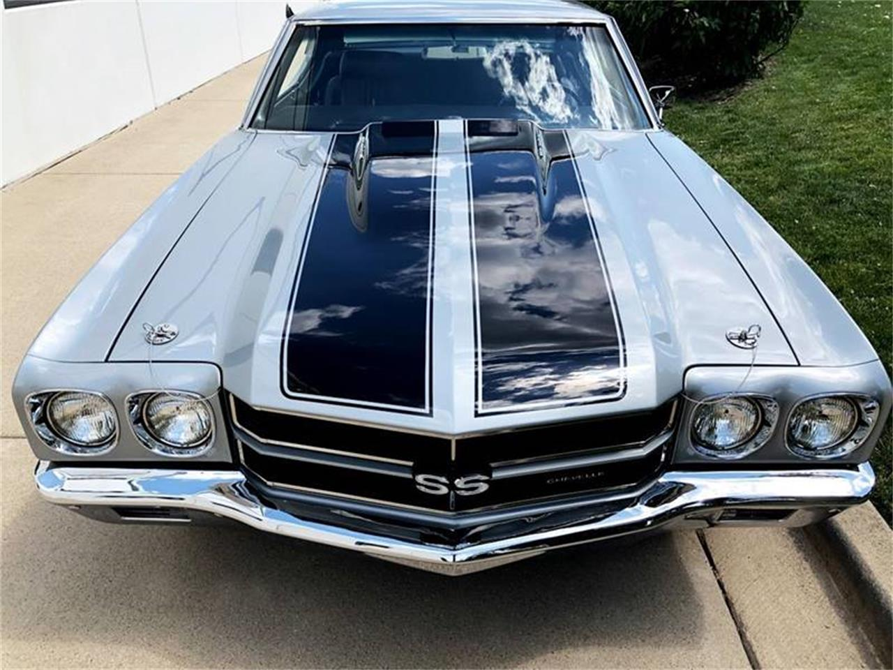 Large Picture of 1970 Chevrolet Chevelle SS located in Illinois Offered by Corvette Mike Midwest - QHCD