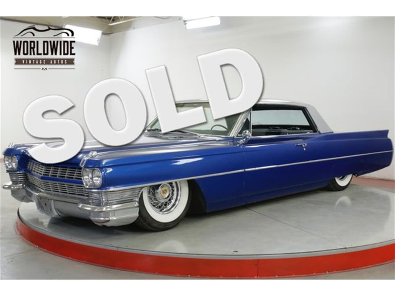 Large Picture of Classic 1964 Cadillac DeVille located in Denver  Colorado - QHH2