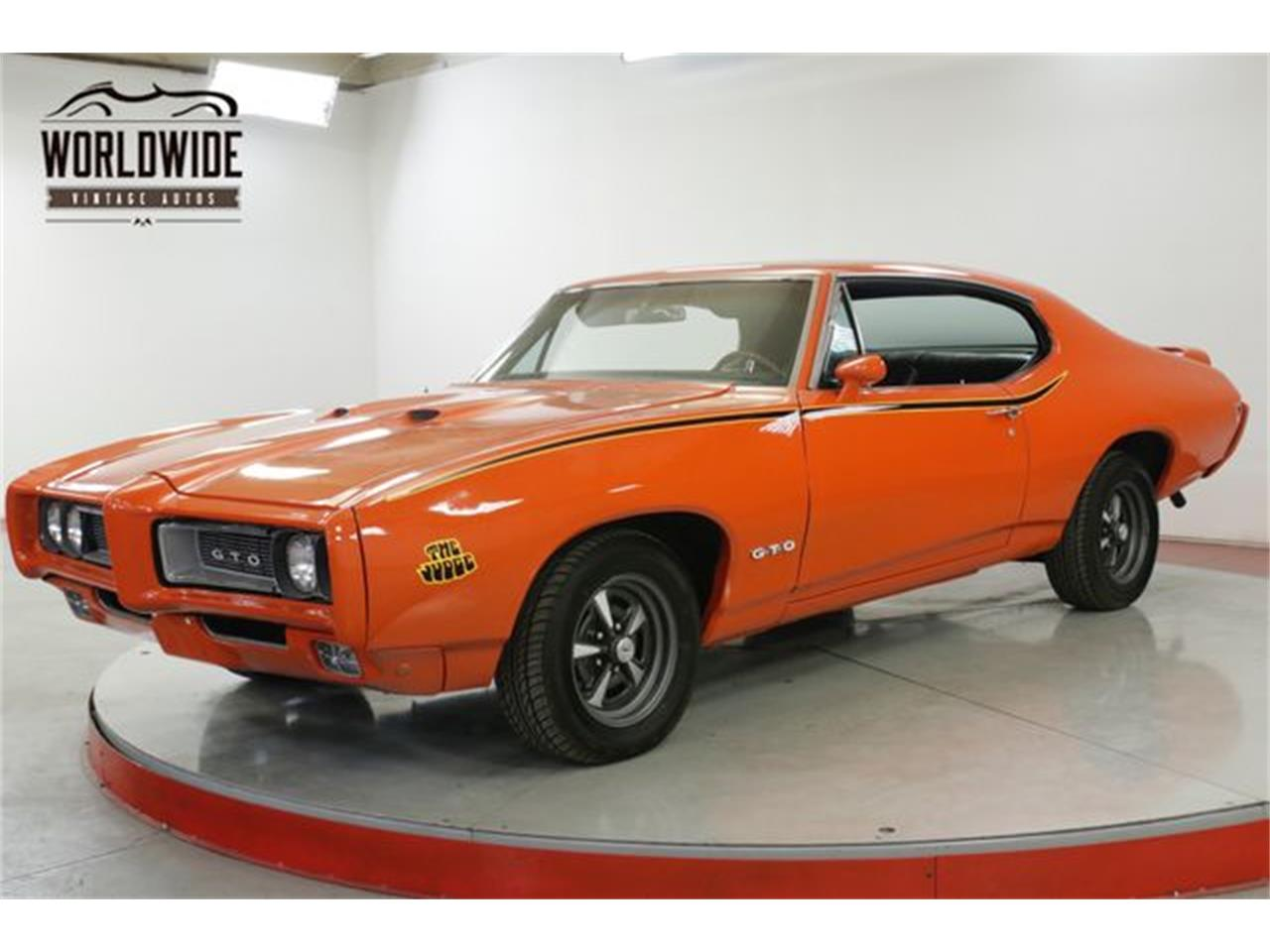Large Picture of Classic 1968 Pontiac GTO located in Colorado Offered by Worldwide Vintage Autos - QHH8