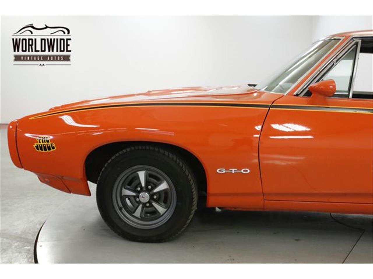 Large Picture of '68 Pontiac GTO located in Colorado - QHH8