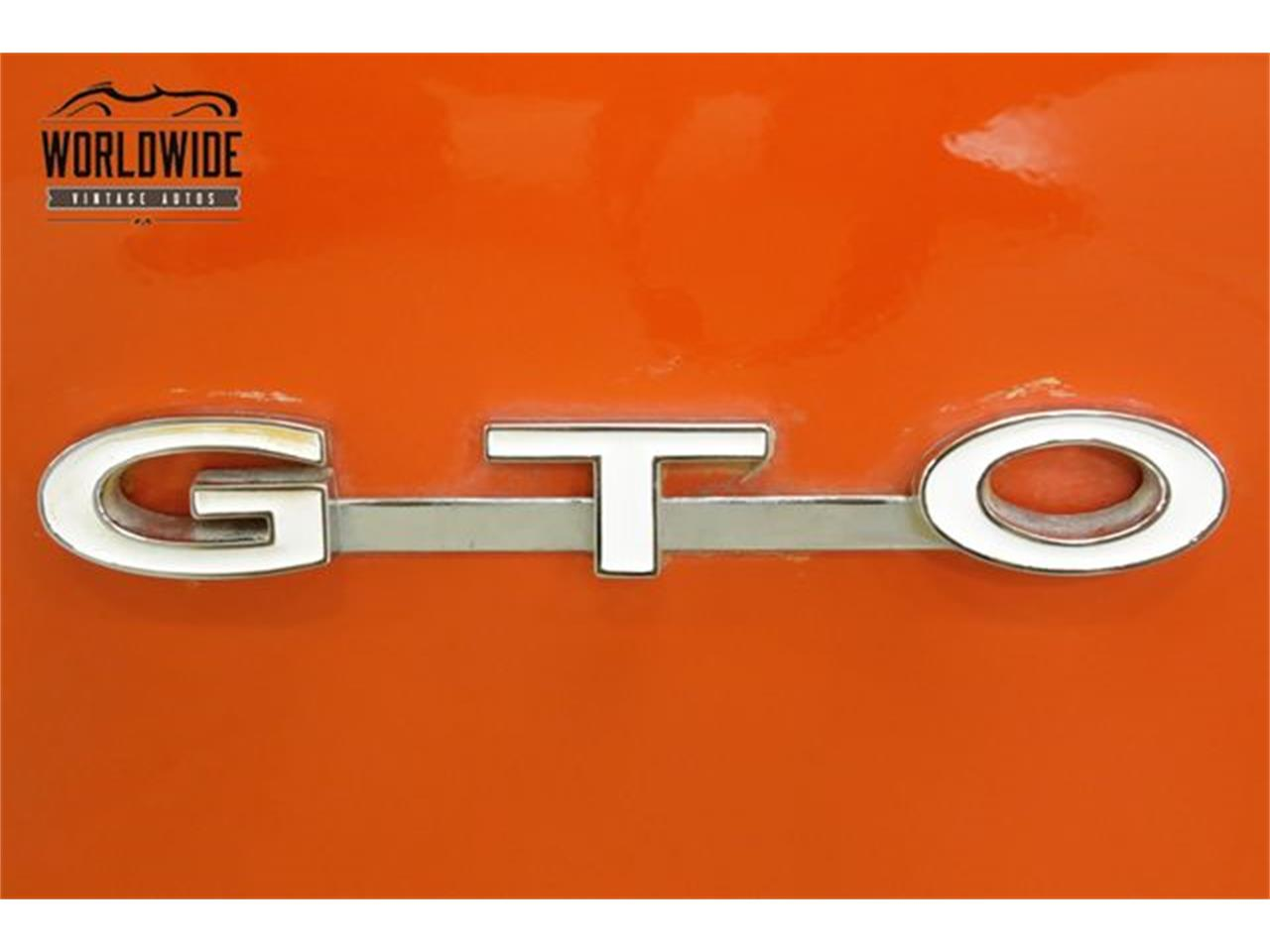 Large Picture of '68 Pontiac GTO located in Colorado Offered by Worldwide Vintage Autos - QHH8