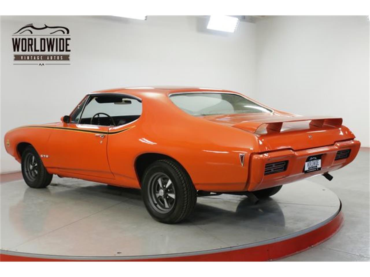 Large Picture of '68 Pontiac GTO located in Denver  Colorado Offered by Worldwide Vintage Autos - QHH8