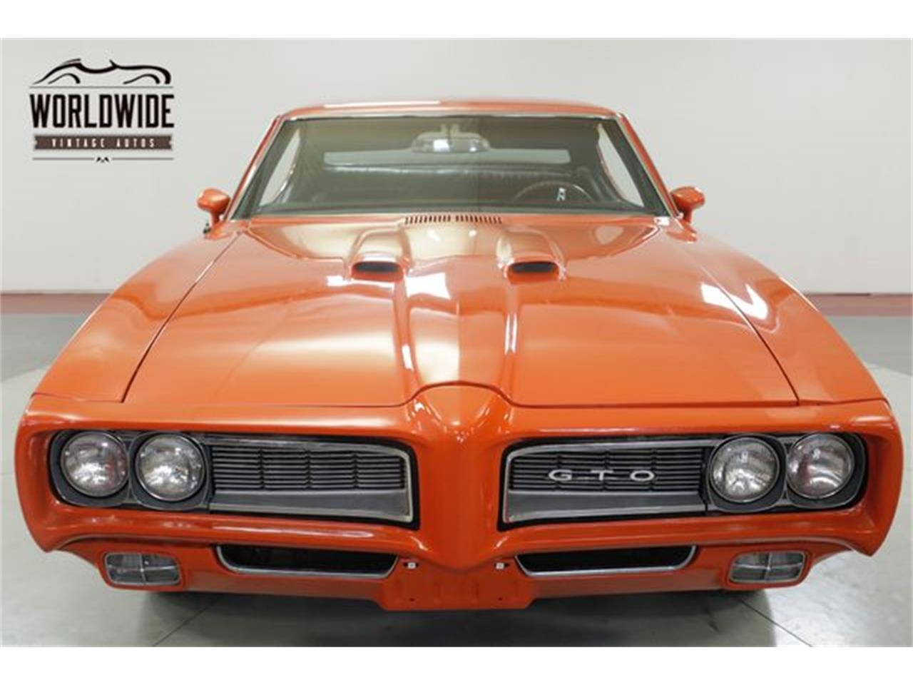 Large Picture of Classic '68 Pontiac GTO located in Colorado - $20,900.00 Offered by Worldwide Vintage Autos - QHH8