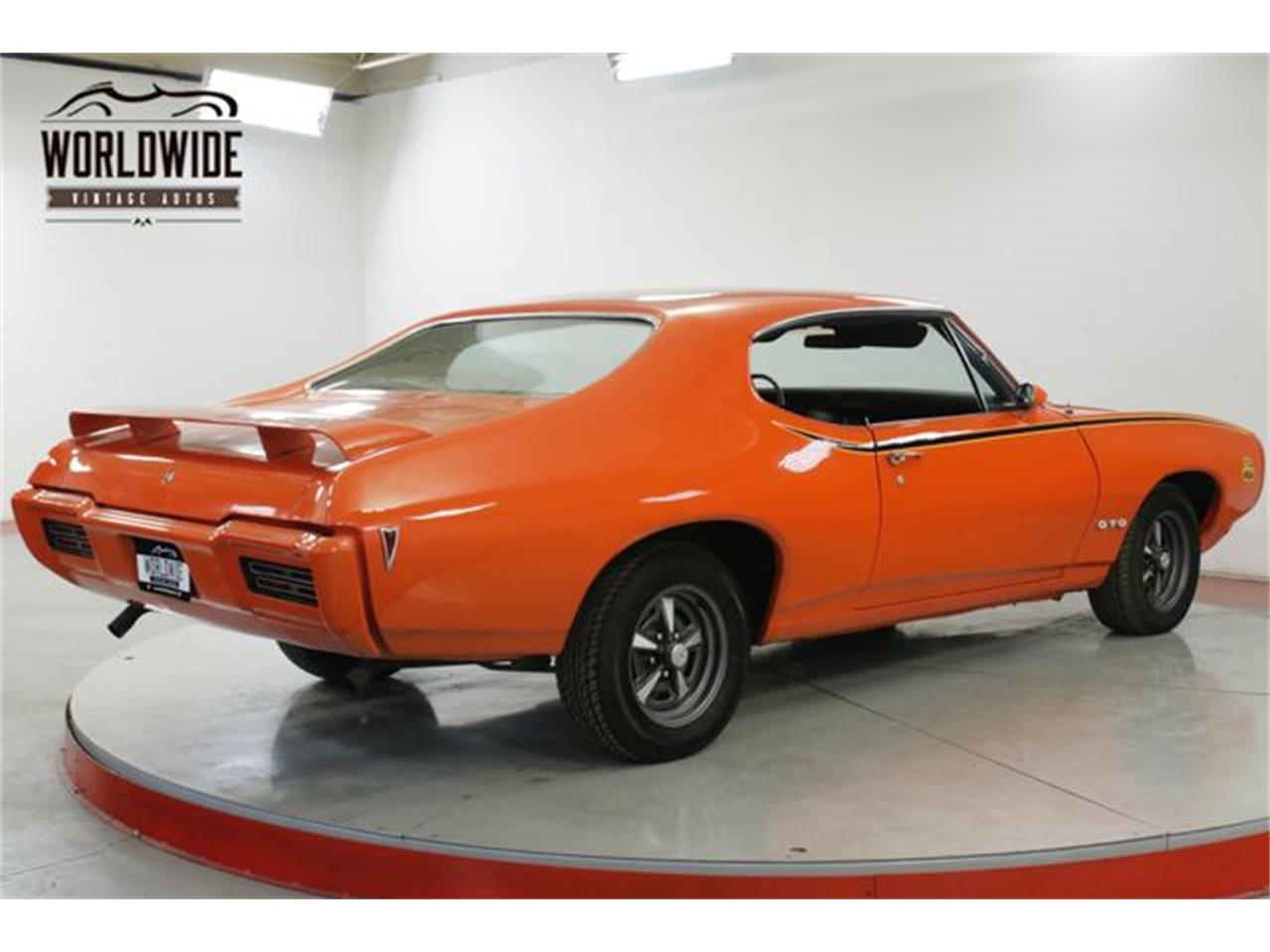 Large Picture of Classic '68 GTO located in Denver  Colorado - $20,900.00 Offered by Worldwide Vintage Autos - QHH8