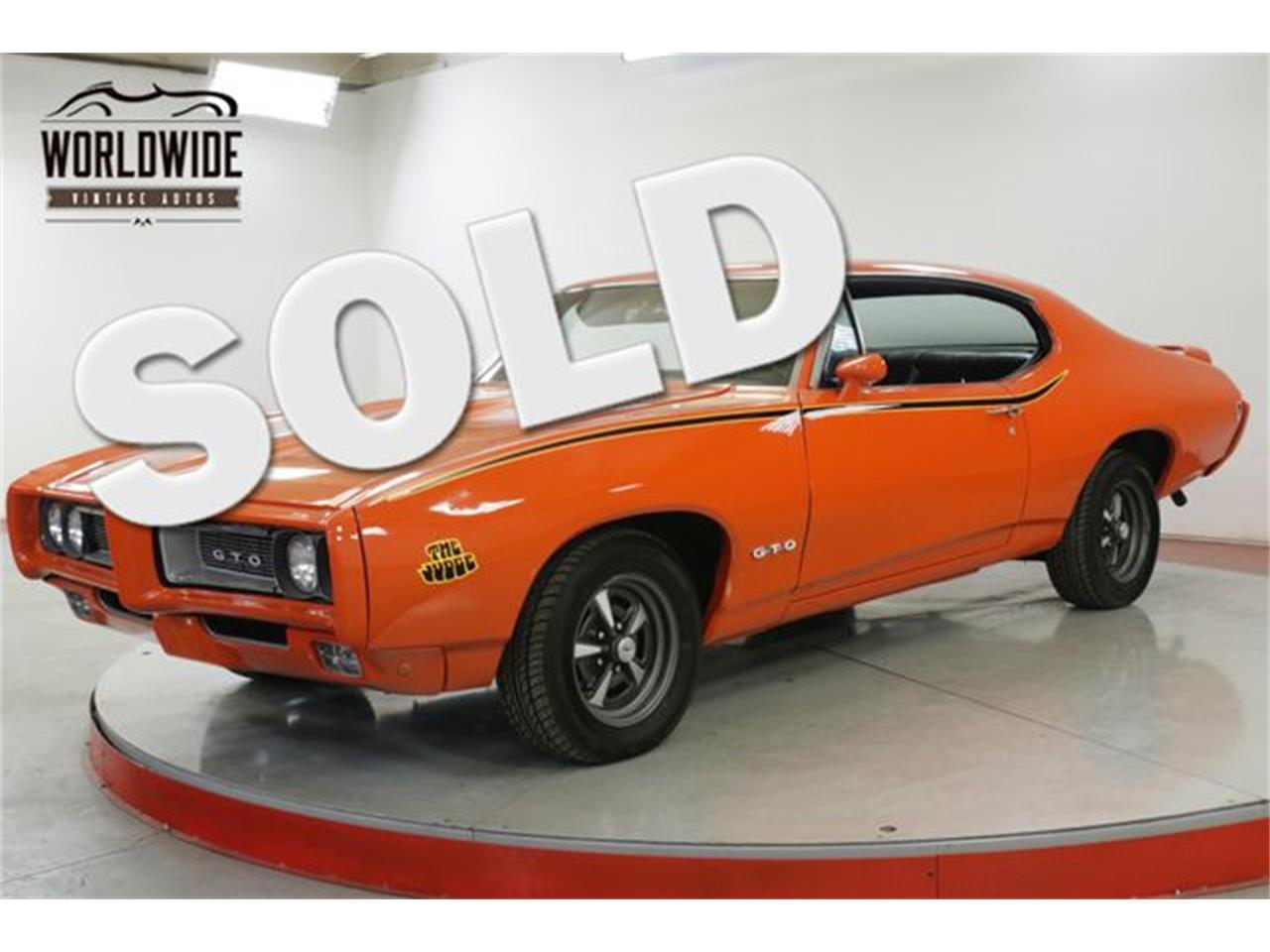 Large Picture of 1968 Pontiac GTO located in Colorado Offered by Worldwide Vintage Autos - QHH8