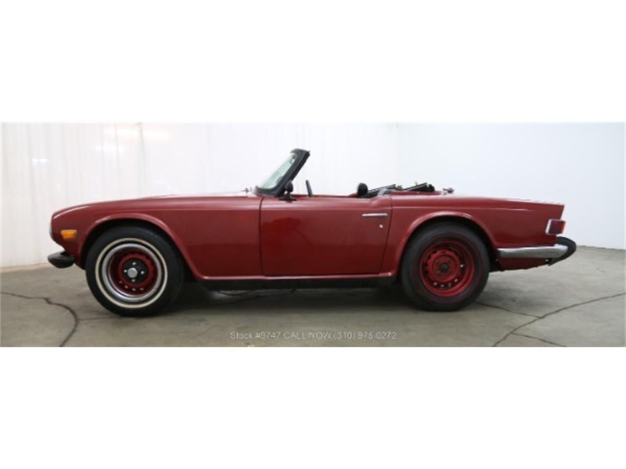 Large Picture of Classic '73 TR6 located in Beverly Hills California - $3,950.00 Offered by Beverly Hills Car Club - QI3K