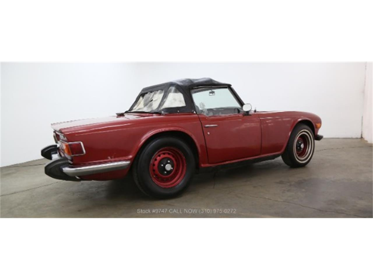 Large Picture of '73 Triumph TR6 located in California Offered by Beverly Hills Car Club - QI3K
