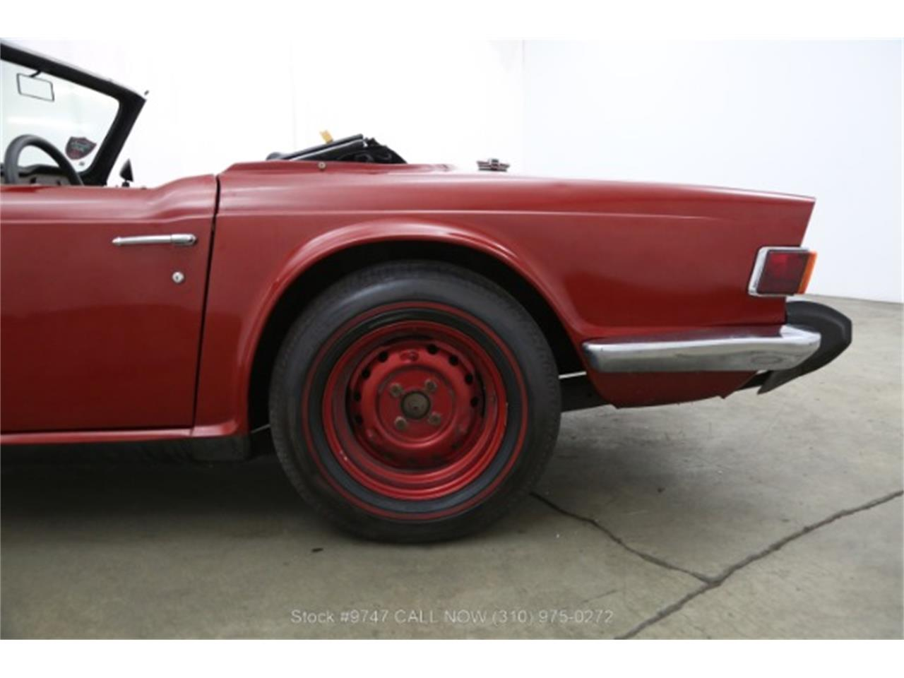 Large Picture of Classic '73 Triumph TR6 located in Beverly Hills California - $3,950.00 Offered by Beverly Hills Car Club - QI3K
