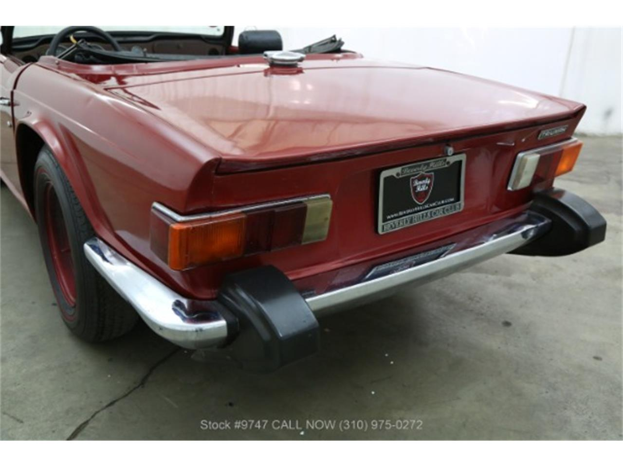 Large Picture of Classic '73 TR6 located in Beverly Hills California - $3,950.00 - QI3K
